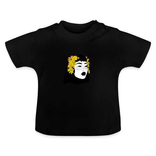 yellow petals - Baby T-Shirt