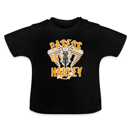 Paseos en H a r l e y - Camiseta bebé