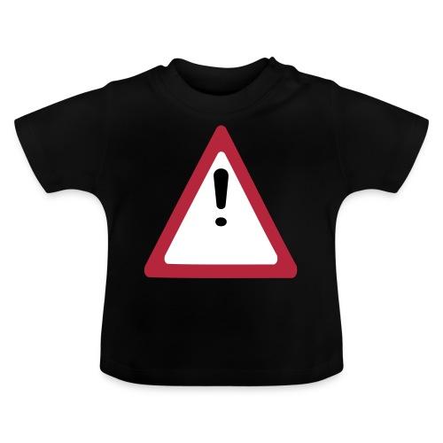 achtung vorsicht - Baby T-Shirt