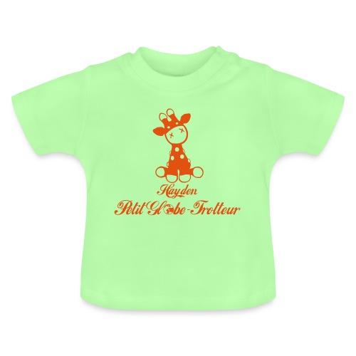 Hayden petit globe trotteur - T-shirt Bébé