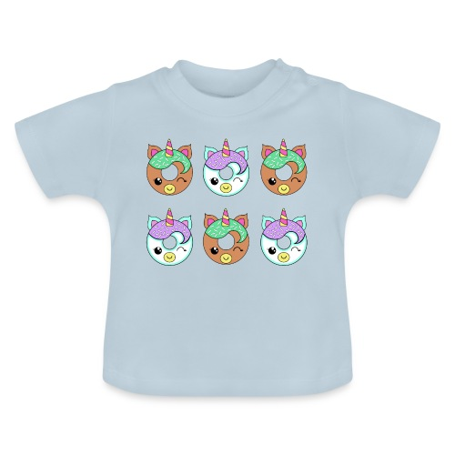 Unicorn Donut - Maglietta per neonato