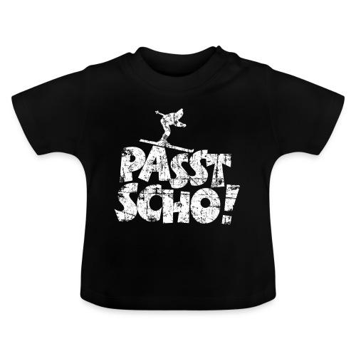 Passt Scho! Après-Ski Wintersport Skifahrer - Baby T-Shirt