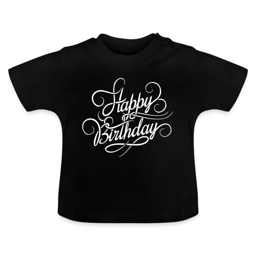 happy birghday - Koszulka niemowlęca