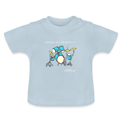 Luigi Drum White - Baby T-Shirt