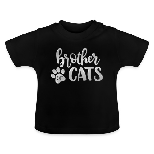 brother of cats grau - Baby T-Shirt