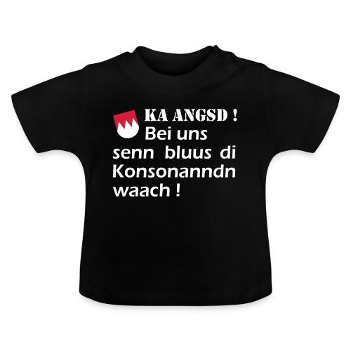 ka-angsd_rot_weiss_klein - Baby T-Shirt