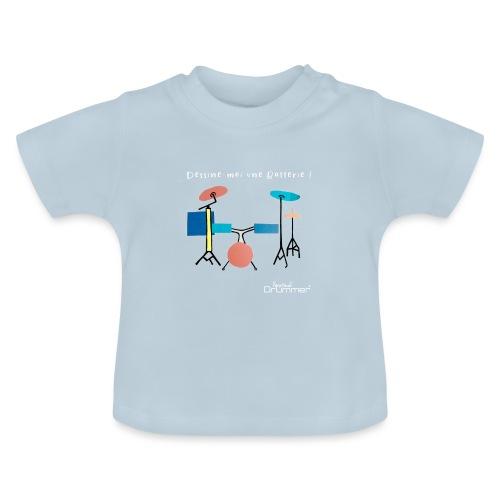 Azia Drum White - Baby T-Shirt