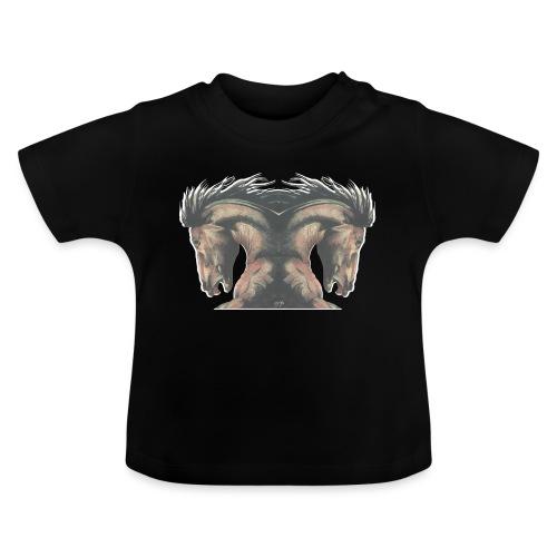 Cheval cabré étalon - T-shirt Bébé