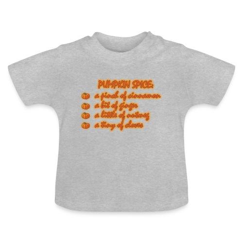 PumpkinSpiceRecipe - Maglietta per neonato