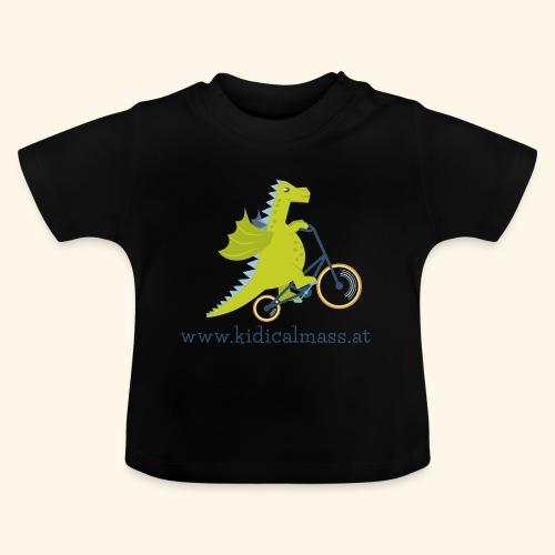 Musikdrache für hellen Hintergrund - Baby T-Shirt