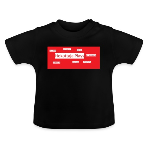 Hekottaja Plays - Vauvan t-paita
