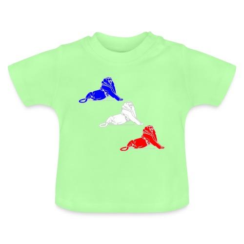 Lion Belfort tricolore - T-shirt Bébé
