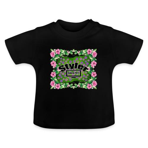 Styler Bloemen Design - Baby T-shirt