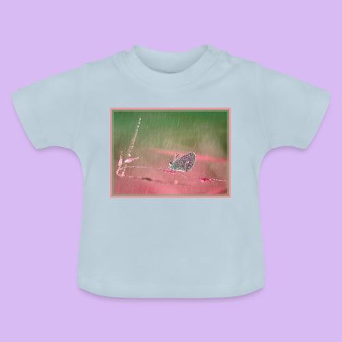 Farfalla nella pioggia leggera - Maglietta per neonato