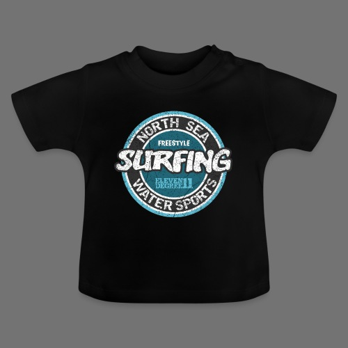 North Sea Surfing (oldstyle) - Baby T-Shirt