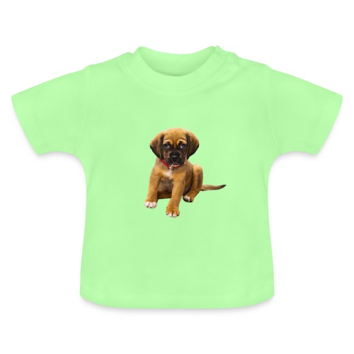 Süsses Haustier Welpe - Baby T-Shirt