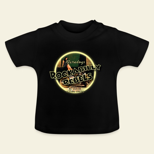 rockabilly rebels pinup - Baby T-shirt