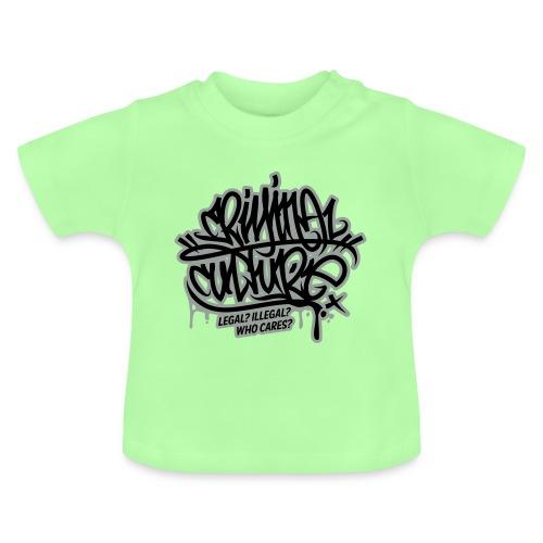 Criminal Culture - Baby T-Shirt