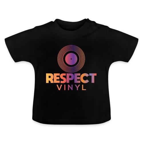 Disco Sisco • Respect Vinyl - Baby T-Shirt