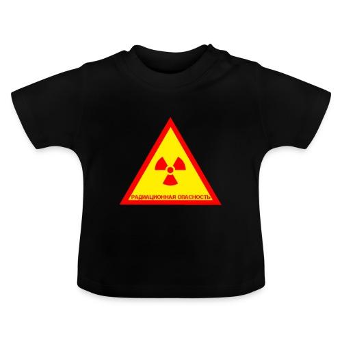 Achtung Radioaktiv Russisch - Baby T-Shirt