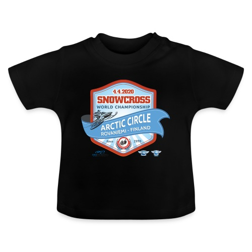 MM Snowcross 2020 virallinen fanituote - Vauvan t-paita