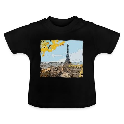 Tour Eiffel de Paris - T-shirt Bébé