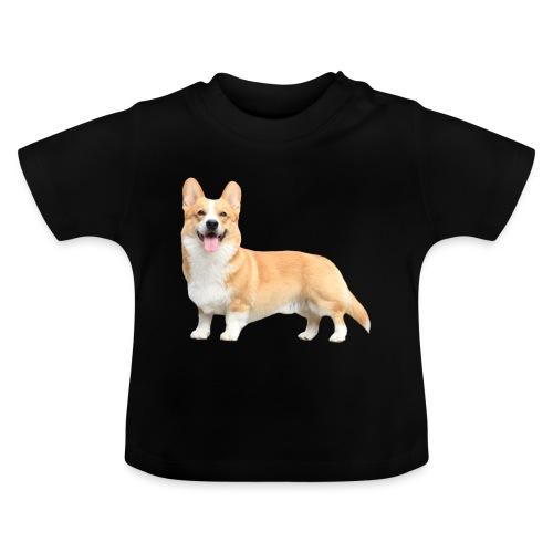 Topi the Corgi - Sideview - Baby T-Shirt