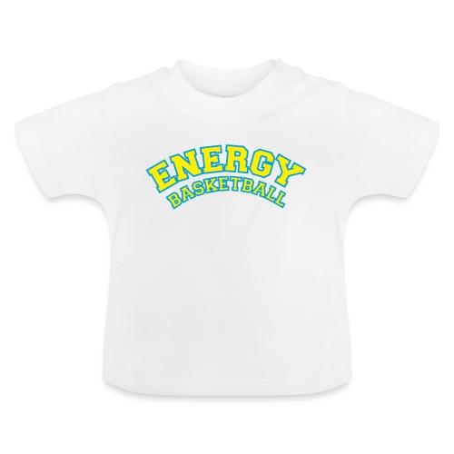 eco logo energy basketball giallo - Maglietta per neonato