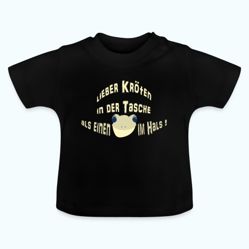 Lieber Kröten in der Tasche - Baby T-Shirt