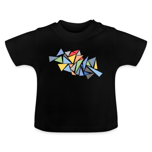 Modern Triangles - Baby T-Shirt