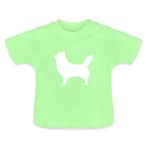 Chihuahua pitkakarva valkoinen - Vauvan t-paita