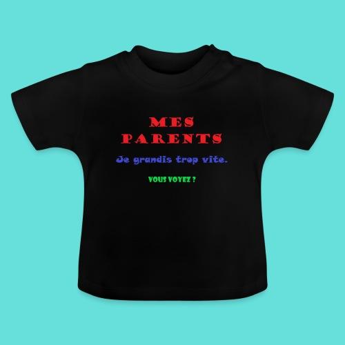 Grandir - T-shirt Bébé
