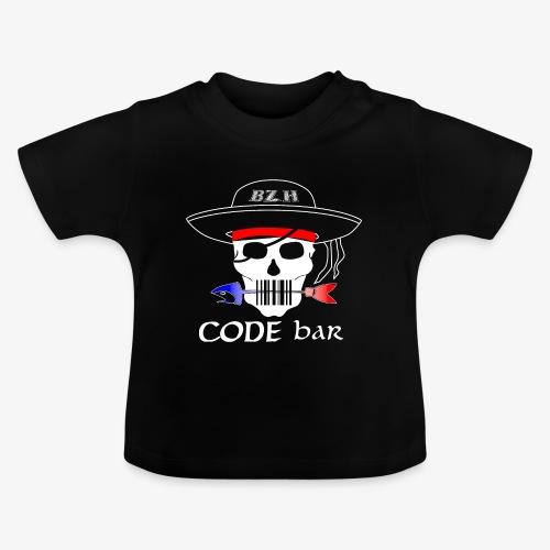 Code Bar white - T-shirt Bébé