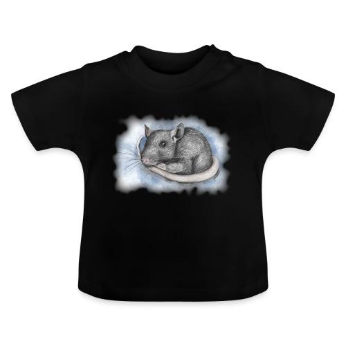 Rottapiirros - Värikuva - Vauvan t-paita