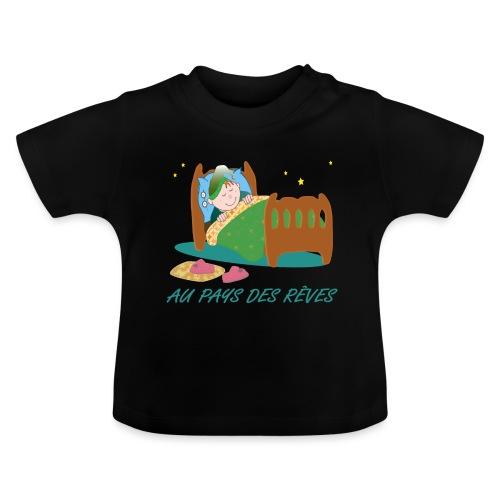 Personnage endormi - T-shirt Bébé