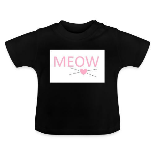MEOW - Koszulka niemowlęca