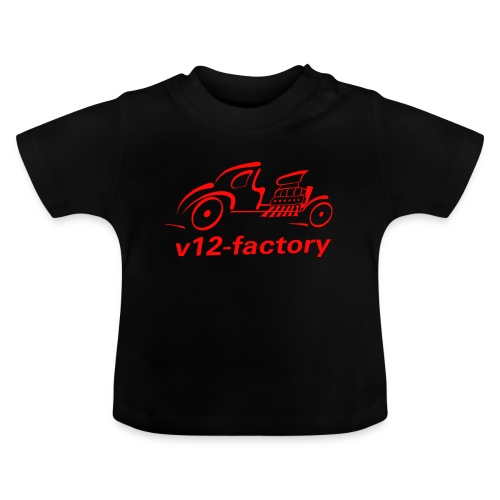 v12 factory Logo - Baby T-Shirt