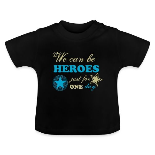 heroes - T-shirt Bébé