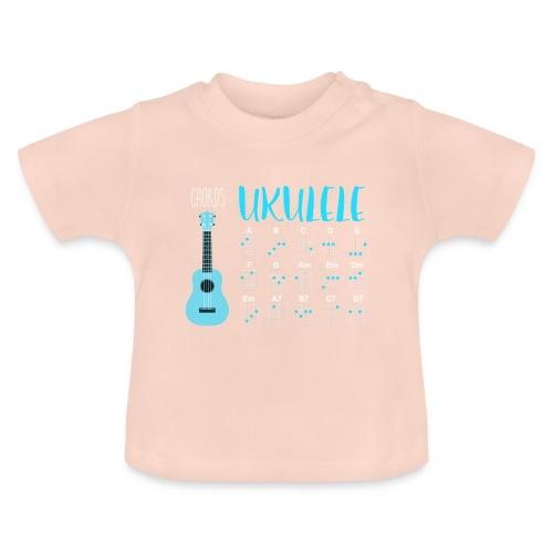 UKULELE CHORDS - Camiseta bebé