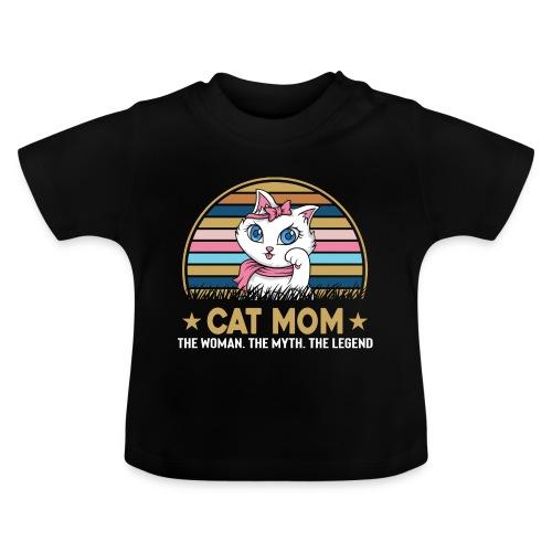 CAT MOM - T-shirt Bébé