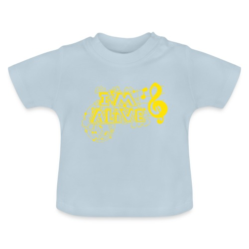 i m alive geel png - Baby T-shirt