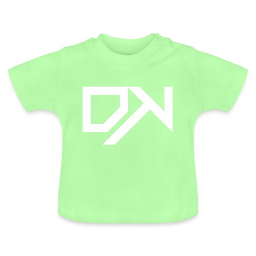 DewKee Logo Cap White - Baby T-Shirt