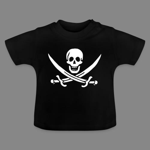 Jack Rackham Flag - T-shirt Bébé