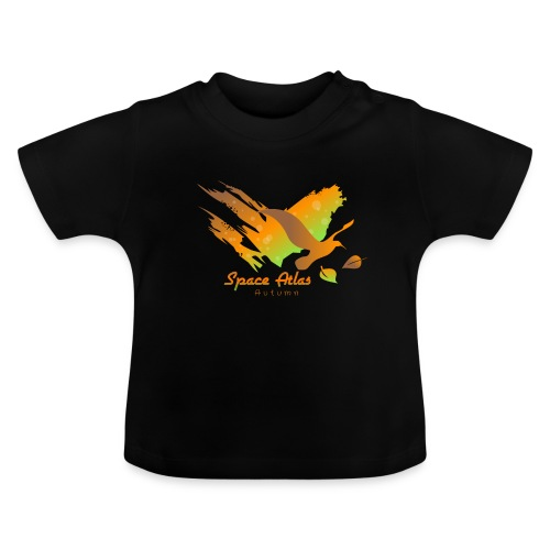 Space Atlas Longshirt Tee Autumn Leaves - Baby T-shirt