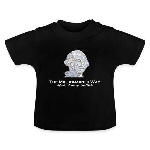 Il nostro logo in bianco - Maglietta per neonato