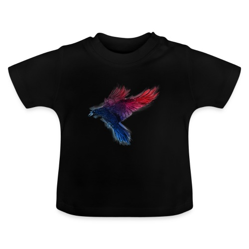 Watercolor Raven - Baby T-Shirt