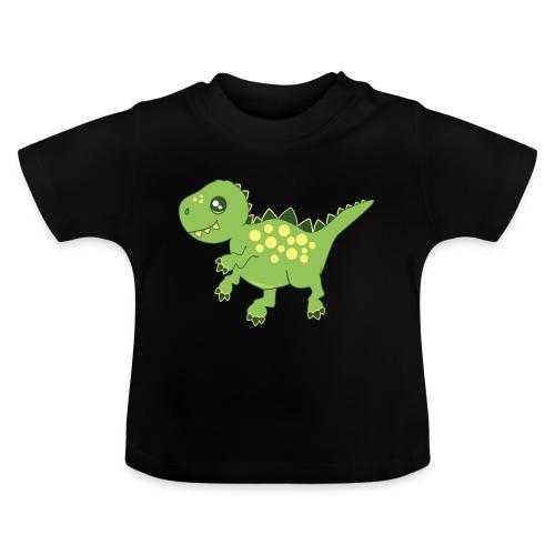 Dino voraz - Camiseta bebé