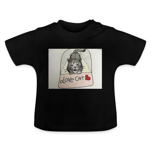 Love cat - Maglietta per neonato