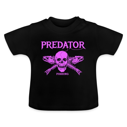 Predator fishing pink - Baby T-Shirt