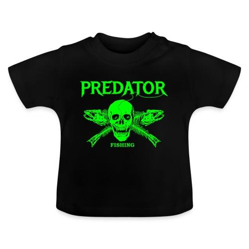 Predator fishing green - Baby T-Shirt